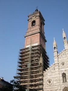 Il campanile del Duomo di Monza