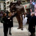 La statua di Bud Spencer