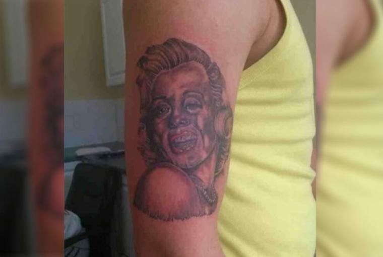 tatuaggio Monroe