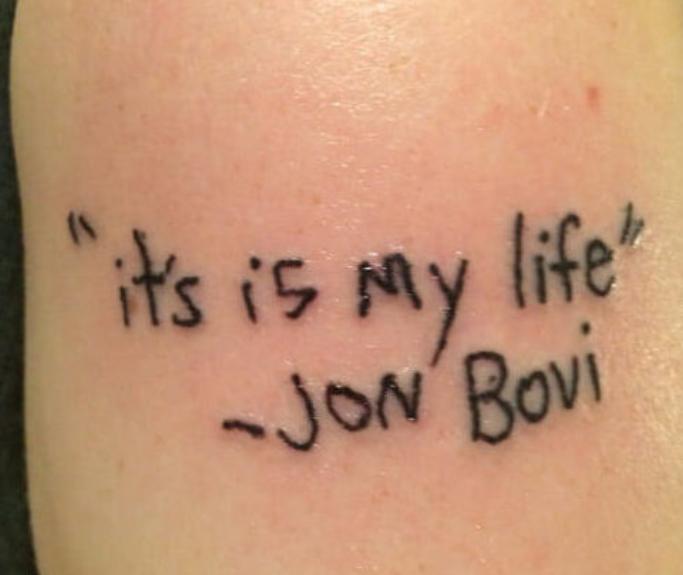 tatuaggio jon bovi